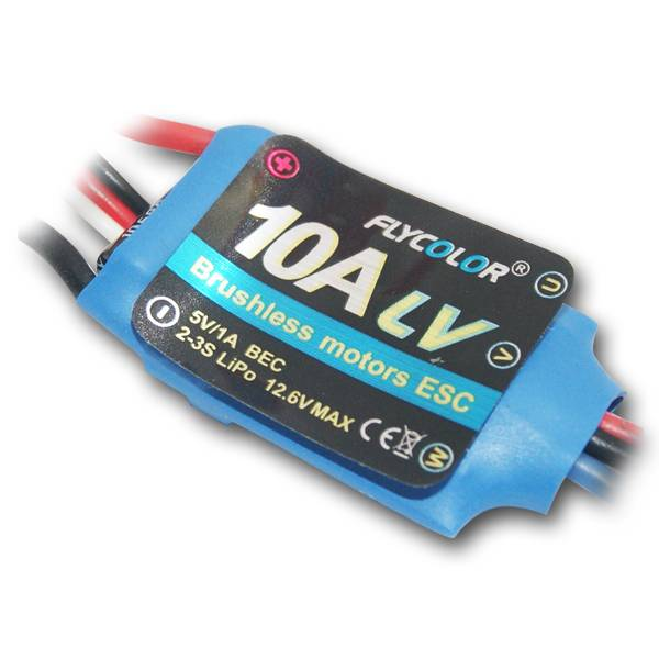 10A ESC for Brushless Motors for RC Airplane
