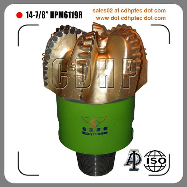 "14 3/4"" matrix body pdc bit for oil and gas"