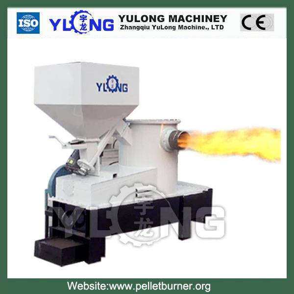 smokeless and high efficiency biomass burner / wood chips sawdust burner/biomass pellet burner for b