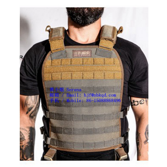 22 oz Coyote Brown CSM Hypalon Fabric for Police Vest