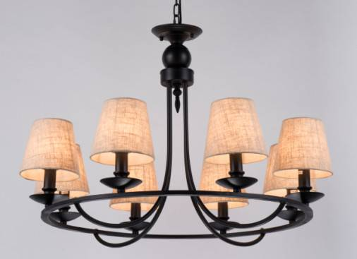 Glass pendant lamp with America style