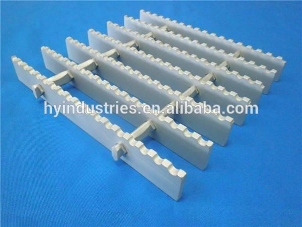 6063T6 Anti-slip serrated aluminum gratings