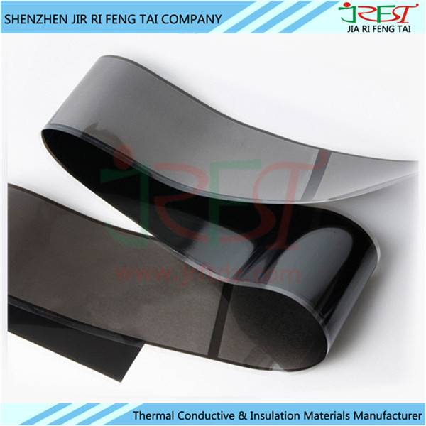 Black 0.04mm Thickness Artificial Graphite Sheet