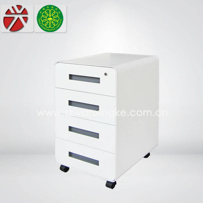 mobile small office cabinet under desk small drawer/mobile cabinet furniture