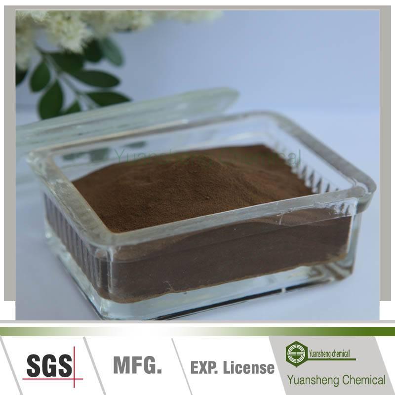 Yellow brown chemical powder sodium lignosulphonate(SF-2)