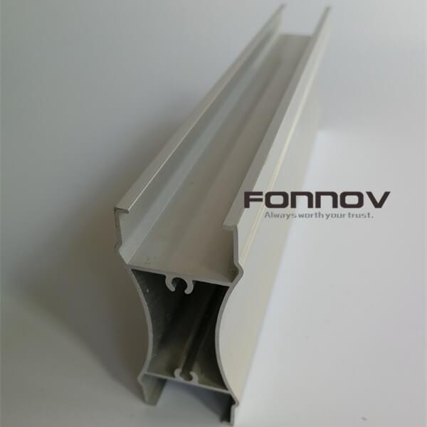 Aluminum Door Extrusions White Powder Coating