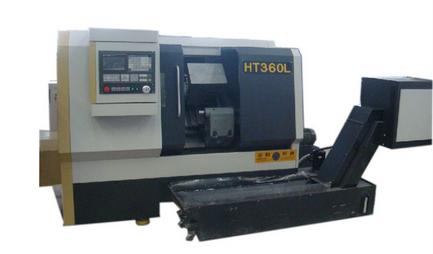 Brake disk CNC vertical lathe with twin-turret
