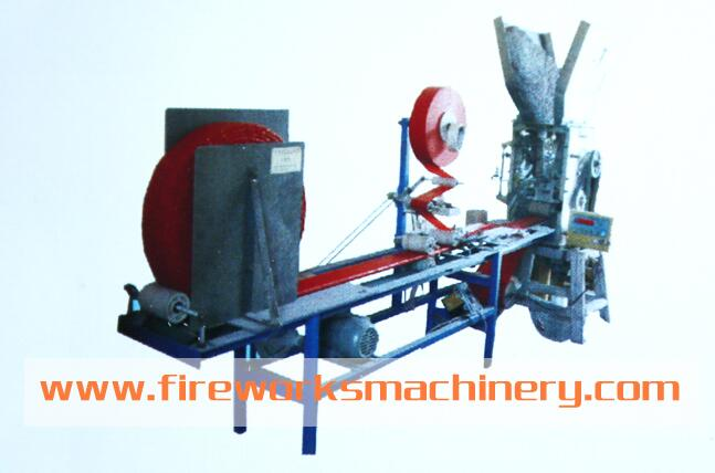 Fully Automatic Firecracker Knitting and Packing Machine