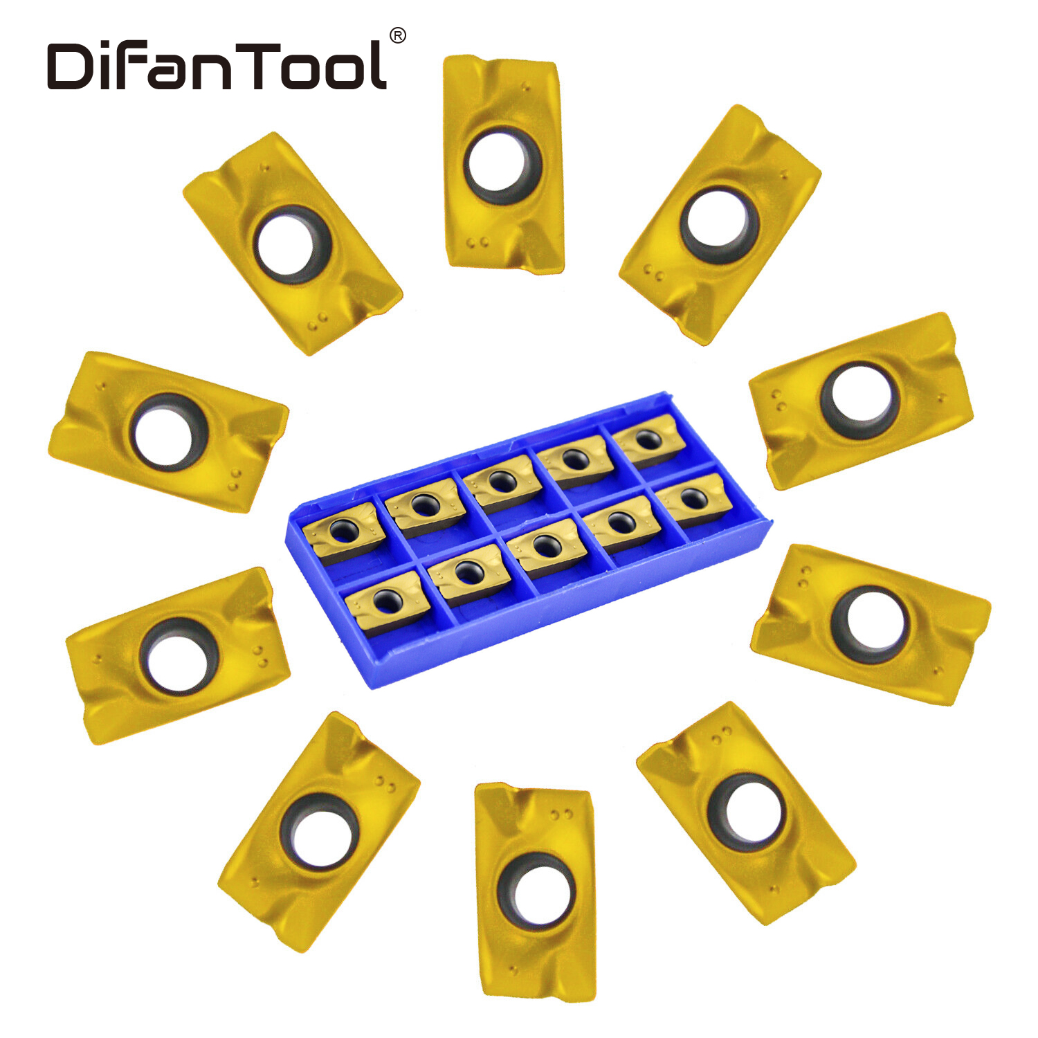 Difanmax CNC Lathe Inserts for Lathe Turning Tool Holder Replacement Insert