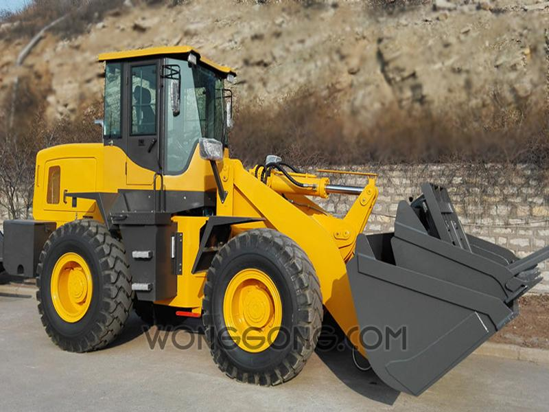 Small Wheel Loader 4Ton Front Loader For Sale