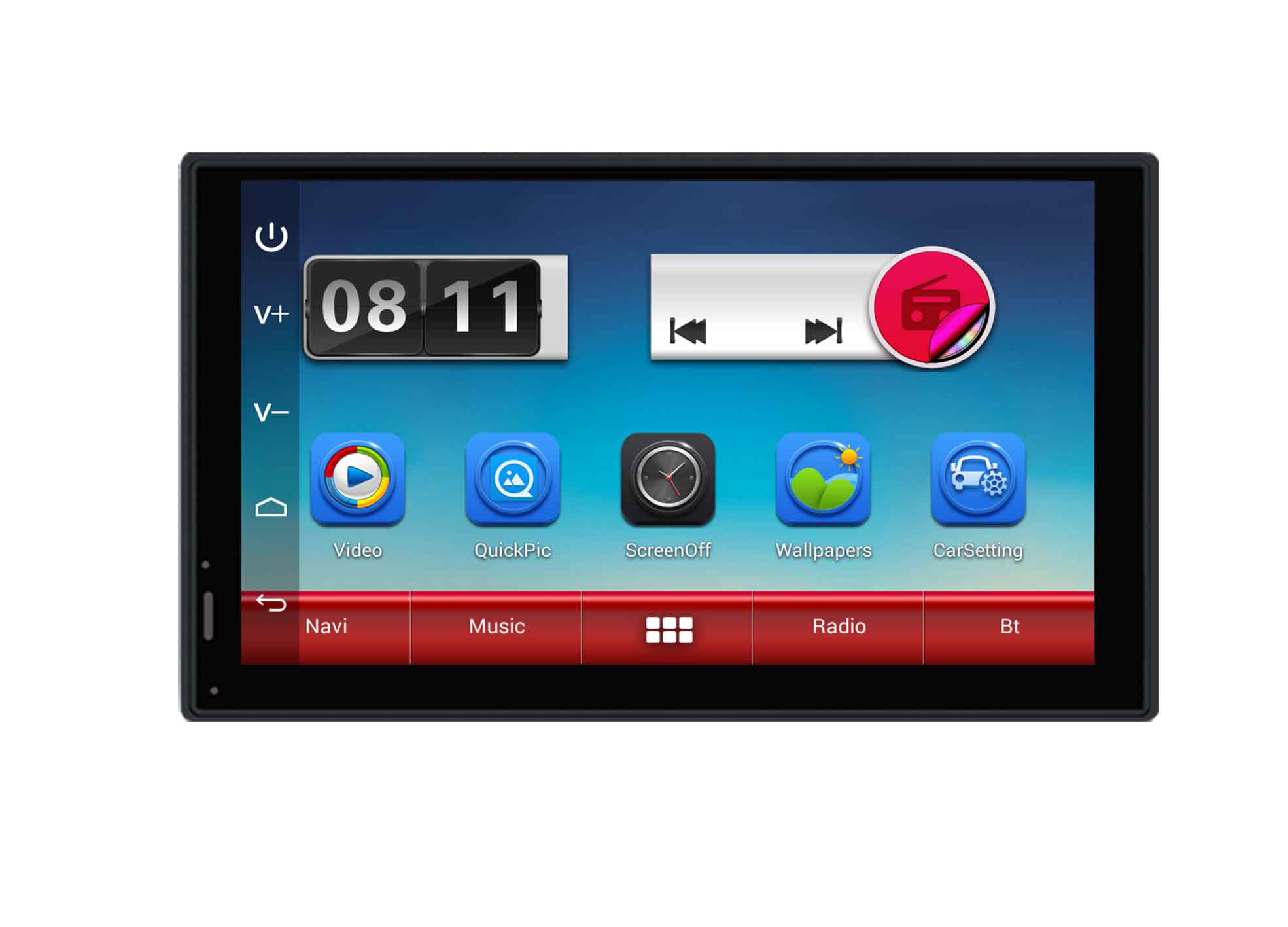 "7"" Android Capacitive Screen Universal Car Navigation"