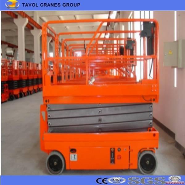 SJYZ0.3-16 Full Electric Driving Moving Scissor Lift Platform