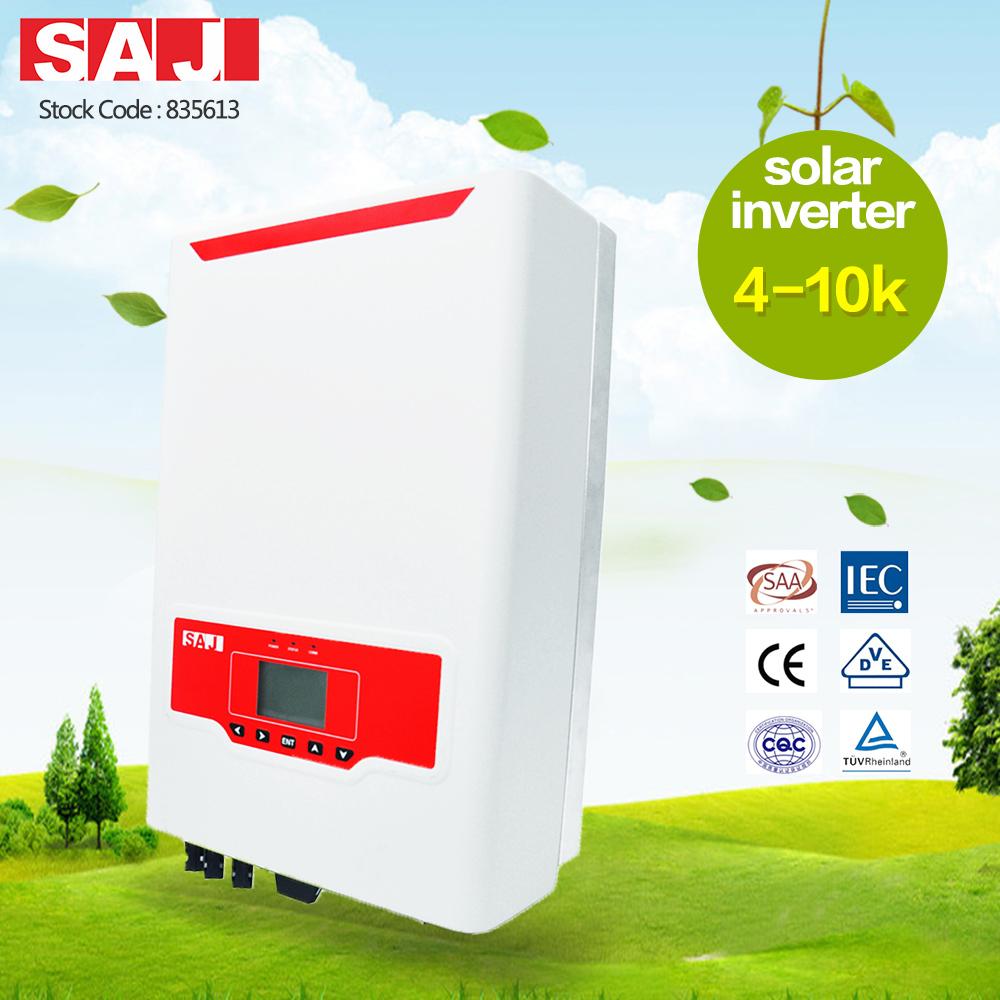 SAJ High Quality Suntrio Plus Series Three Phase 4-10kW Solar Power Inverter