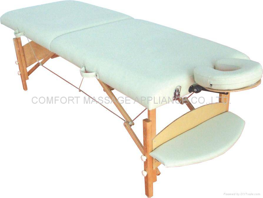 Solid, portable massage table MT006F