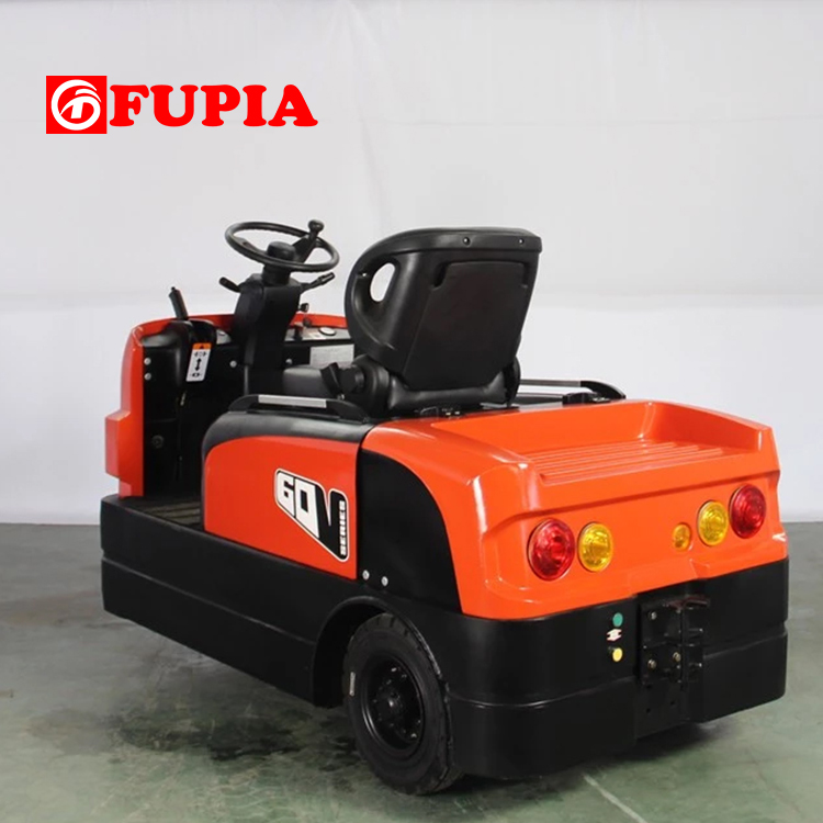 6 ton seated smart electric towing tractor
