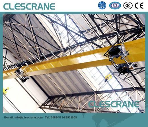 CHS Series top running single girder bridge crane with electric hoist trolley