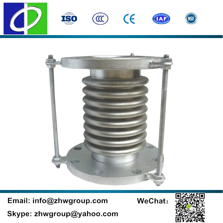 Factory flange end galvanized bellow universal expansion joint