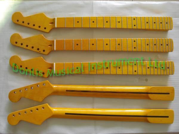 Maple Strat guitar neck