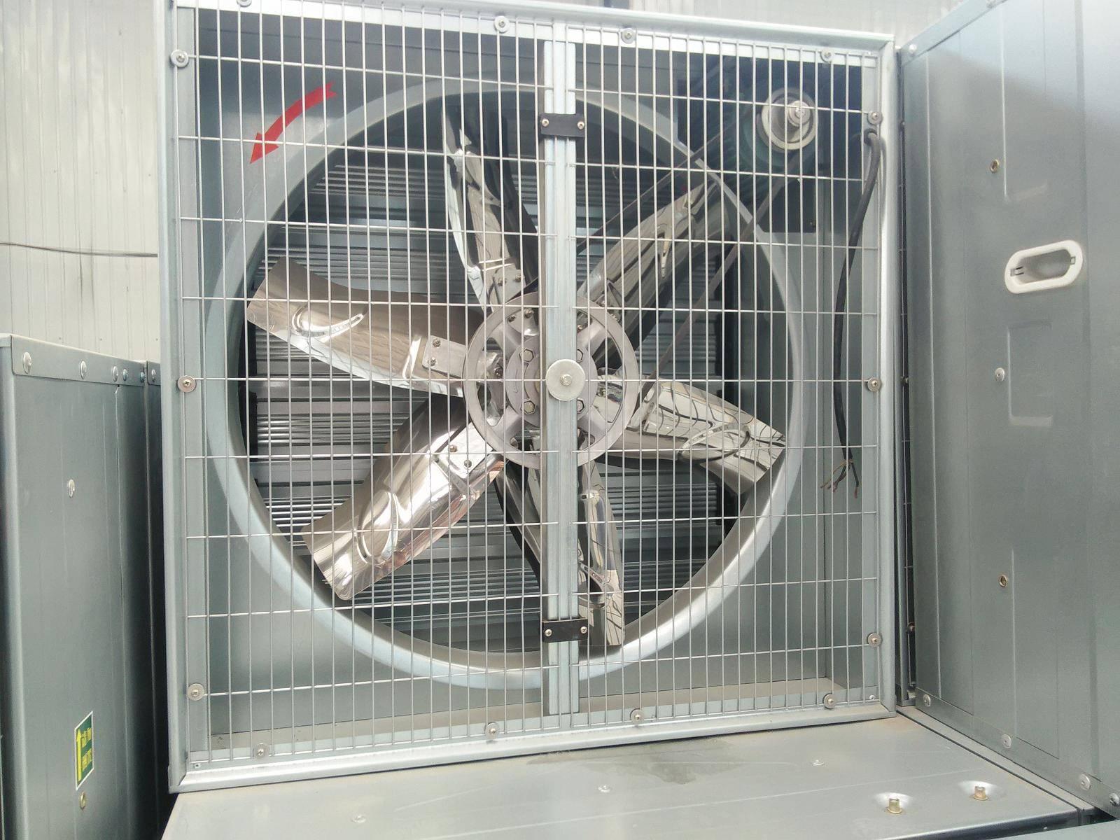 Push-pull Exhaust Fan