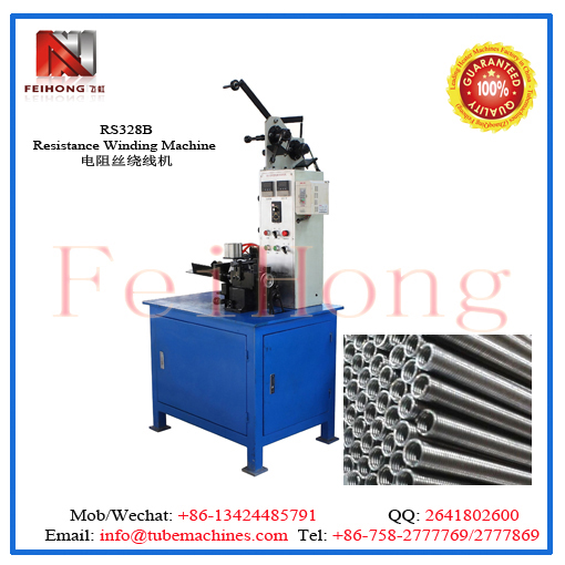resistance wire coil winding machine for heaters