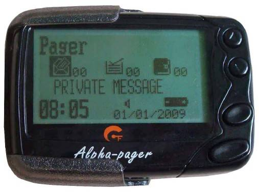 Pocsag pager, alpha paging system receiver, PC programmable text message receiver,137-930Mhz frequen