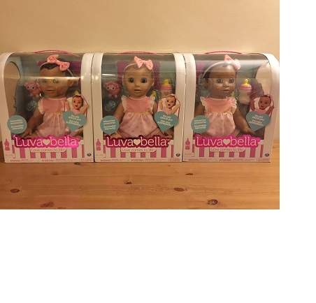 100% Original Luvabella - Blonde Hair - Responsive Baby Doll with Realistic Expressions and Movement