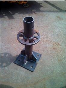Type of Ringlock Scaffolding Starter Base Collar with Screw Jack w/ Base for Construstion Materials
