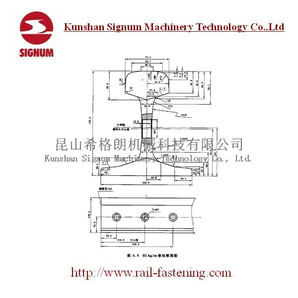 Chinese Standard 60KG Heavy Rail