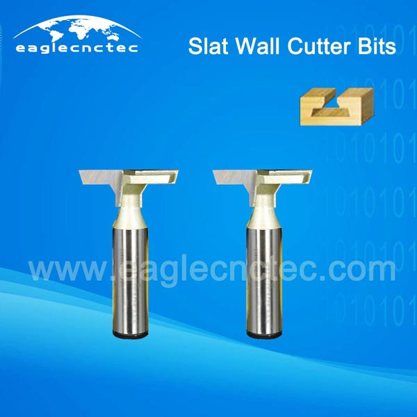 T Slat Wall CNC Router Cutter Bits for T Slot Cutting