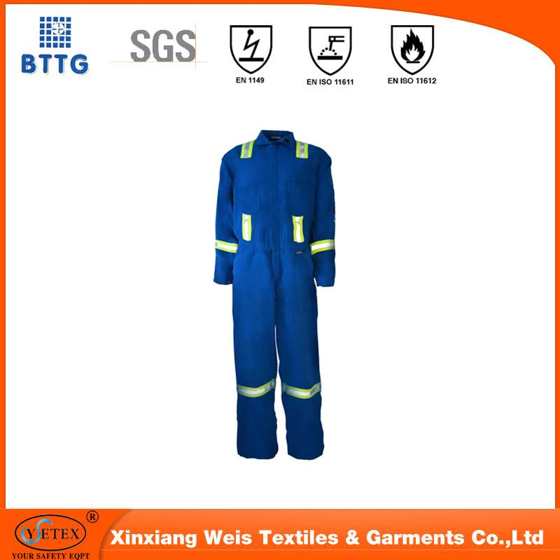 ysetex ASTMD6413 100% cotton high visibility orange durable fire prevention textiles fabrics used fo
