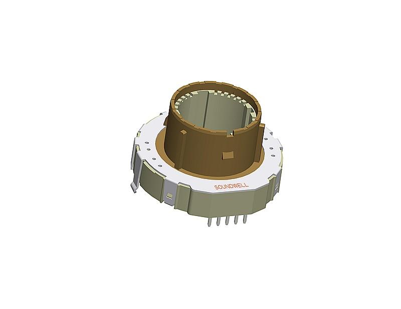 QA3902 hollow potentiometer