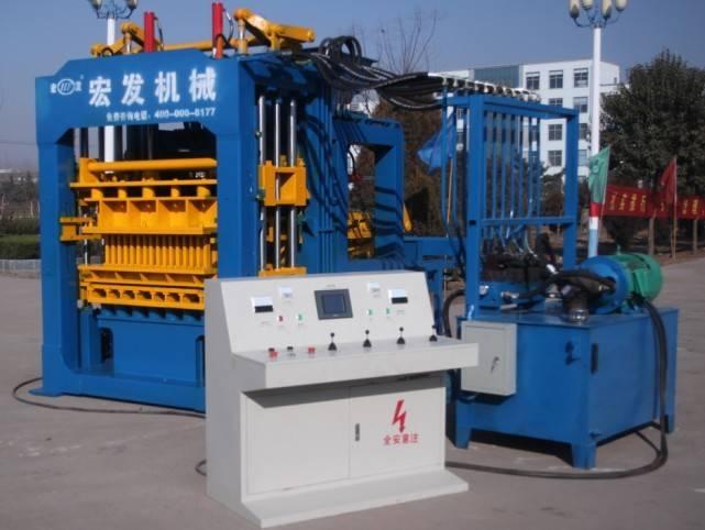 QT4-15D automatic hydraulic brick machine