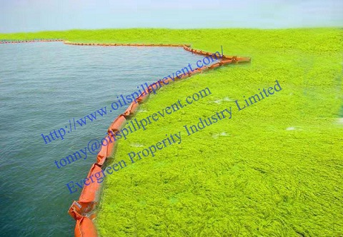 Oil fence containment boomPVC floating oil boom from Evergreen Properity in Chinese(Qingdao Singreat