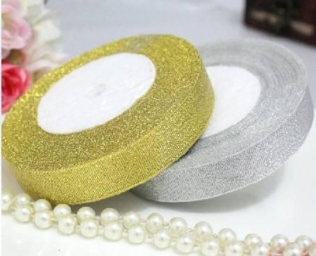 Gold/Silver Metallic Ribbon