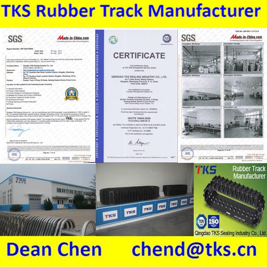 rubber track for excavator,crawler,rice plant machine