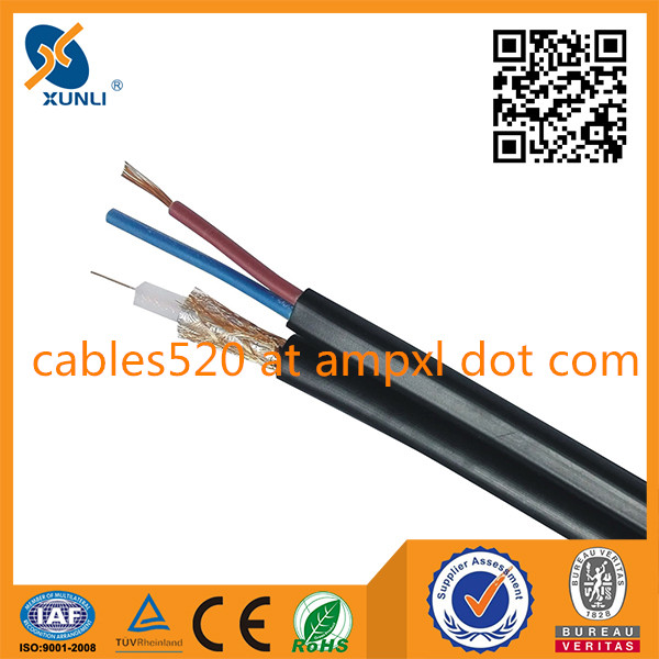 RG59 siamese cable for cctv camera
