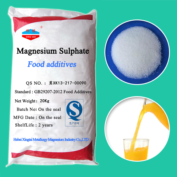Food Grade Magnesium Sulphate