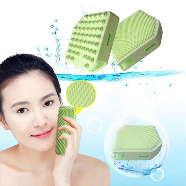 2014 New Arrival Silicone Makeup Brush Cleaning Face Brush