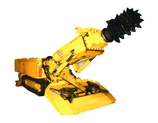 High efficiency ebz260 series coal salt hard rock mining machine roadheader for sale