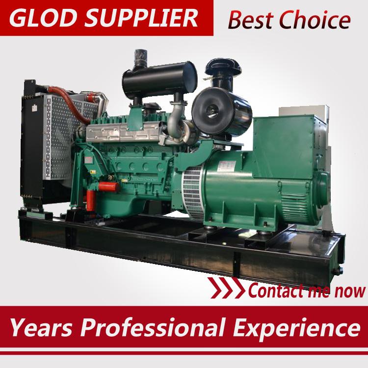 300kw diesel generator 50hz 400kva genset price from China