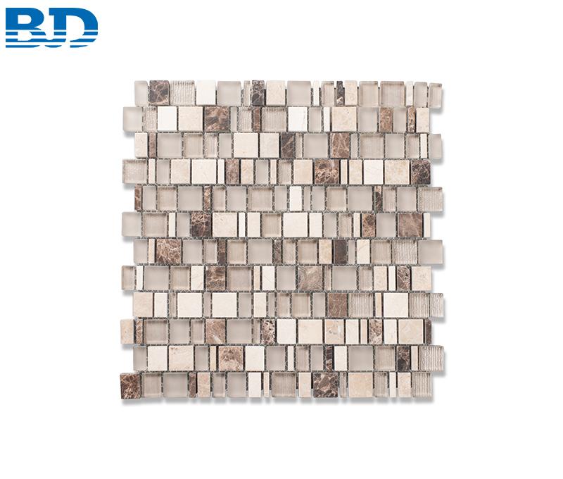 Mixed Stone Glass Mosaic