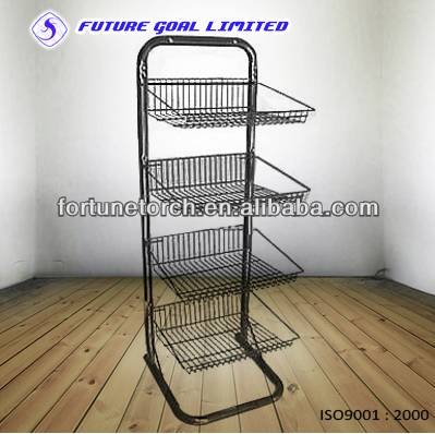 metal display rack,wire basket,Retail Shelving,Custom Retail Display