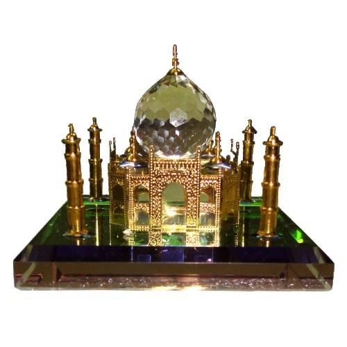 Crystal Taj Mahal (24k Gold Plated) - Best Valentine's Day Gift