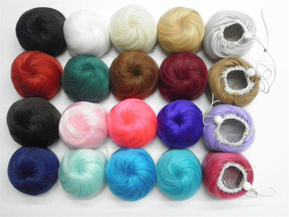 Synthetic bun LQHP-FB20 from E&A wig