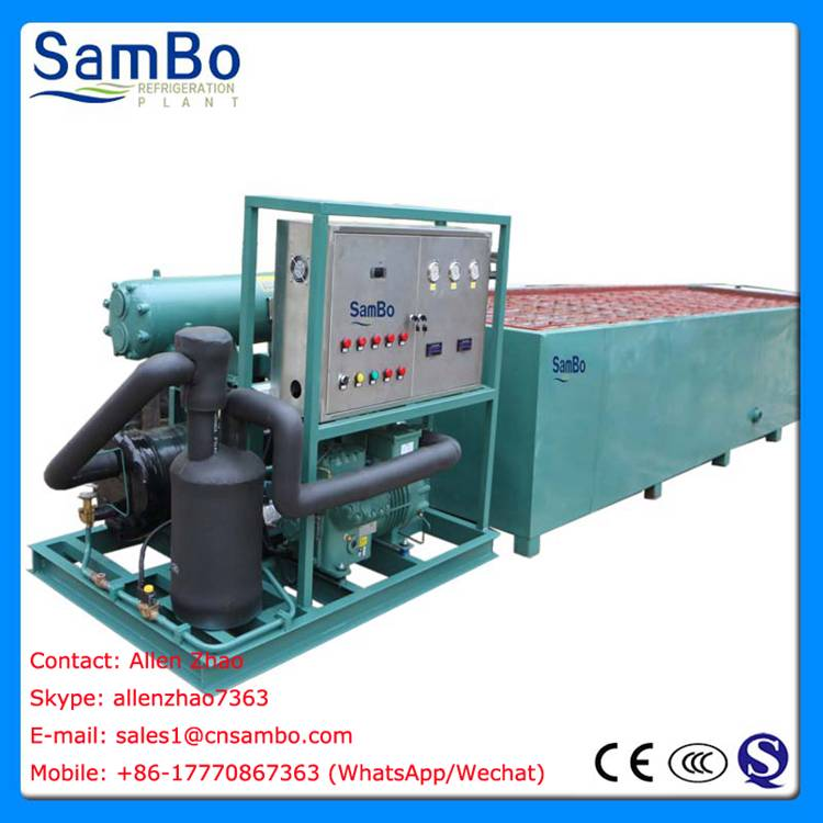 SamBo Ice Block Machine 10Tons Per Day CE Approved