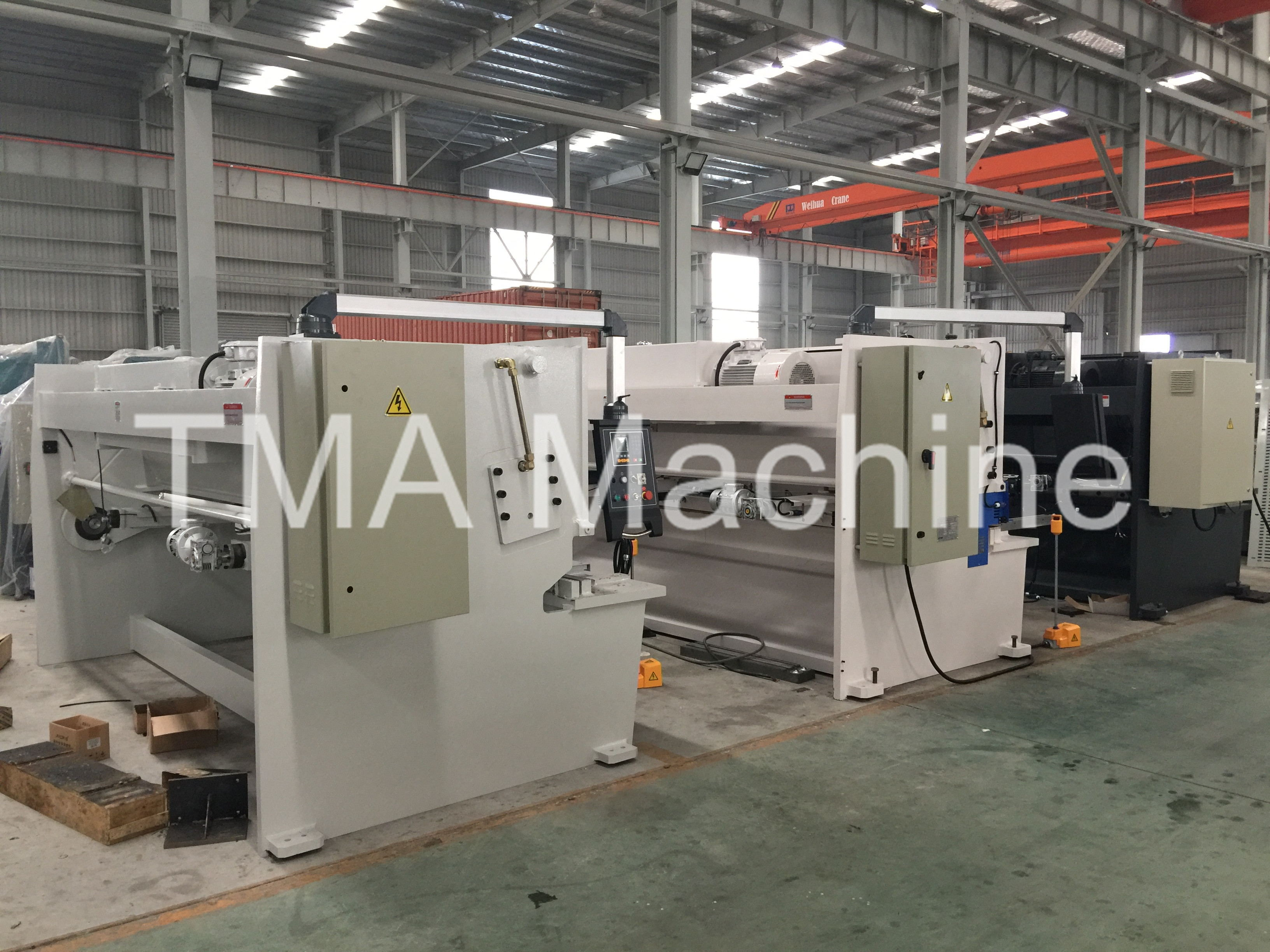 Hot High Quality Hydraulic Shearing Machine, Sheet Shearing Machine, Steel Shearing Machine QC
