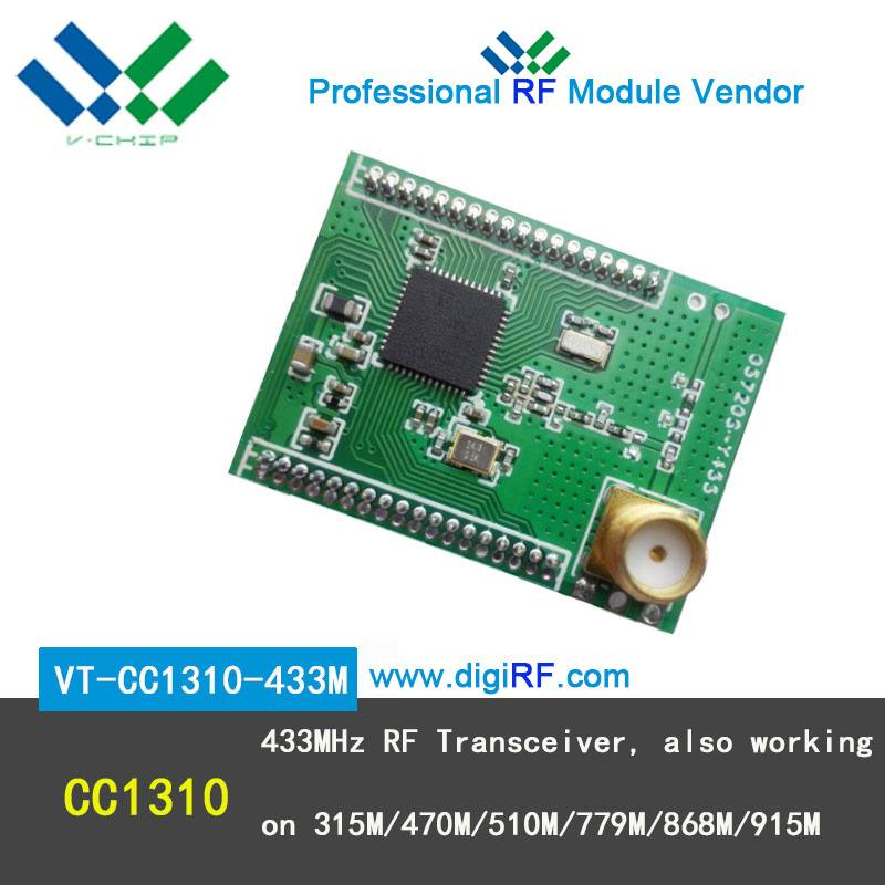 433MHz RF wireless transceiver module cc1310