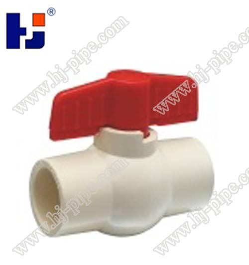 hot selling high quality ASTM 2846 pvc ball valve