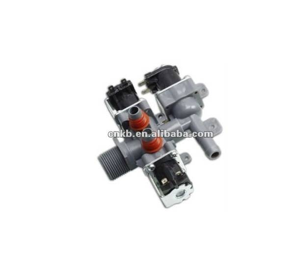 CNKB FCS270A free sample available plastic body material PA 12VDC Electric Solenoid Valve