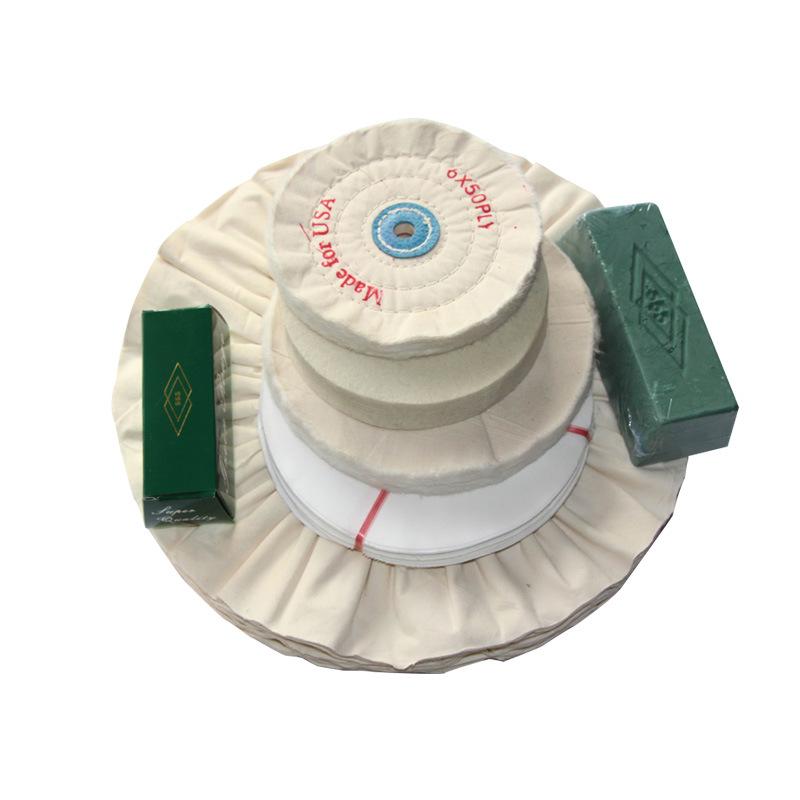 Polishing wheel pearl cotton white cloth wheel fiber wheel grinding wheel customization